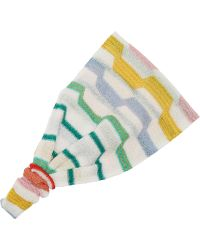 Missoni Metallic Crochet-knit Headband - Lyst
