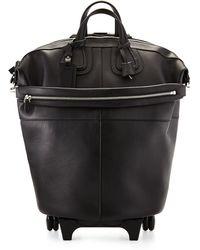 Givenchy Leather Nightingale Wheeled Trolley Bag - Black