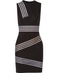 Christopher Kane Stretch-jersey Mini Dress - Lyst