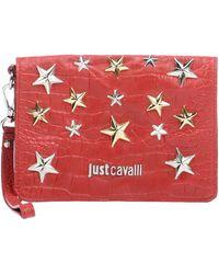 Just Cavalli Handbag red - Lyst