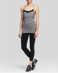 Hard Tail - Colorblock Criss-cross Shelf Bra Tank Top - Lyst