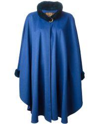 Yves Saint Laurent Vintage Oversize Cape - Lyst