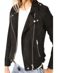 Iro Tajima Suede Leather Jacket - Lyst