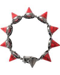 Eddie Borgo Gemstone Cone Bracelet - Lyst