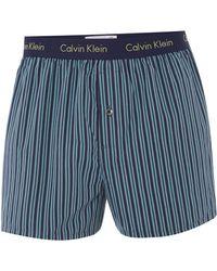 Calvin Klein Louis Stripe Woven Boxer - Lyst