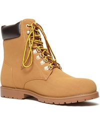 Forever 21 - Faux Nubuck Hiking Boots - Lyst