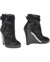 Alessandro Dell'acqua Ankle Boots - Lyst