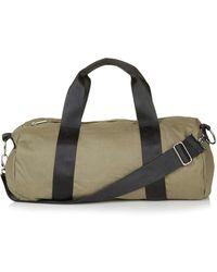 TOPSHOP - Canvas Luggage Bag - Lyst