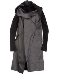 Gareth Pugh Full-length Jacket - Lyst