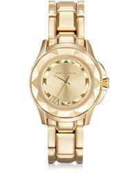 Karl Lagerfeld Karl 7 36 Mm Gold Ip Stainless Steel Unisex Watch gold - Lyst