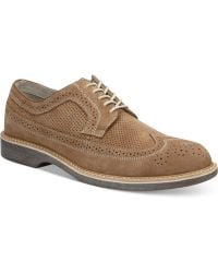 Bass Pearson Wing-tip Oxfords - Lyst