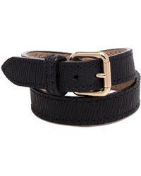 Proenza Schouler Ps11 Double Bracelet In Black