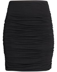 H&M Draped Skirt - Lyst
