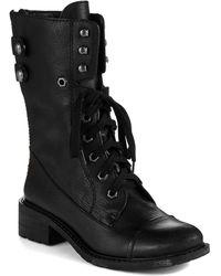 Sam Edelman Darwin Combat Boots - Lyst