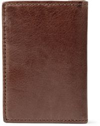 J.Crew Bifold Leather Cardholder - Lyst