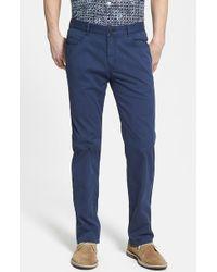 Tommy Bahama 'Venice' Five Pocket Pants blue - Lyst