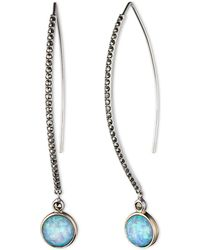 Judith Jack - Caribbean Breeze Opal And Sterling Silver Threader Earrings - Lyst