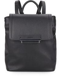 Danielle Nicole Flap Backpack - Black