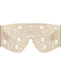 KTZ | Gold Metal Lace Sunglasses | Lyst