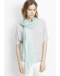 Vince | Fringed Scarf | Lyst