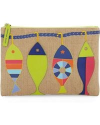 Jonathan Adler - Fish Accent Pouch - Lyst