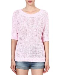 Juicy Couture Tape Yarn Jumper - Lyst