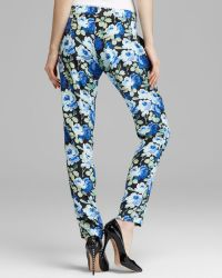 Pjk Patterson J. Kincaid Pants Rascal Floral Silk - Blue