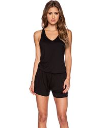 Feel The Piece Benson Romper - Black