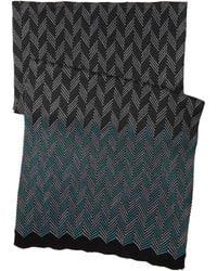 Missoni Teal scarves - Lyst