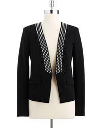 MICHAEL Michael Kors Studded Fashion Jacket - Lyst