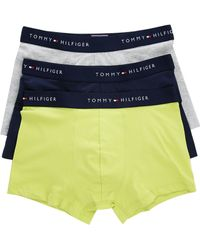 Tommy Hilfiger 3-Pack Lemon Navy Grey Boxers blue - Lyst