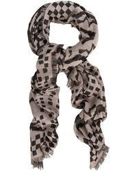 Temperley London Tiger Shell Woven Scarf pink - Lyst