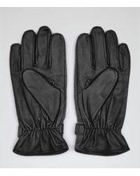 Reiss - 1971 Bob Contrast Panel Gloves - Lyst