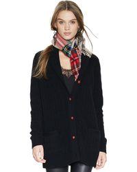 Polo Ralph Lauren Cashmere Shawl-collar Cardigan - Lyst