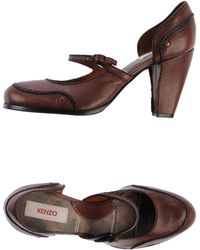 Kenzo Brown Court - Lyst
