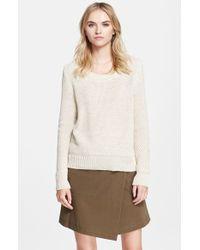 Belstaff 'Hudson' Lightweight Cable Knit Sweater - Lyst