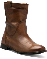 Frye Paige Short Riding Boot - Lyst
