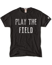 Todd Snyder X Champion | Play The Field T-shirt | Lyst