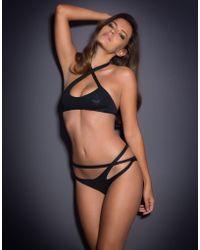 Agent Provocateur Raven Bikini Bra - Lyst