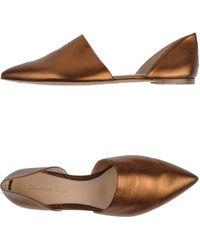 Gianvito Rossi Ballet Flats - Lyst