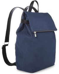 Whistles Canvas Backpack - Lyst