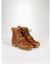 Polo Ralph Lauren Brown Redmon Boot - Lyst