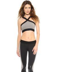 Heroine Sport X Bra - Black/Black - Lyst