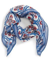 Roffe Accessories - Floral Print Scarf - Lyst