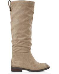 Express Tall Slouchy Boot - Natural
