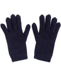 Inverni - Knitted Cashmere Gloves - Lyst