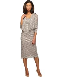 Fall Sheath Dresses With Jackets In Gray Sheath Dress With Jacket