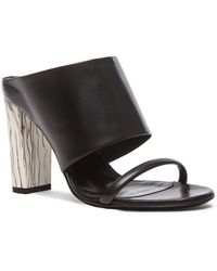 McQ by Alexander McQueen Cleo Leather Sabot - Lyst