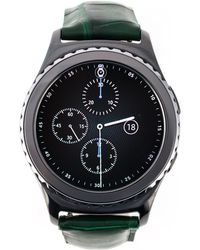 "Samsung - Deep Green ""gear S2"" Smartwatch - Lyst"