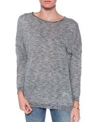 American Vintage Pocket Sweatersweater - Lyst